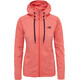 The North Face Tech Mezzaluna Hoodie Women Fire Brick Heather